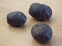 Black patatoes